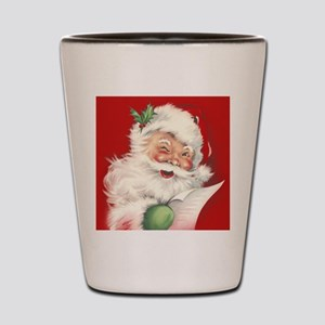 Vintage Santa Reworked! Shot Glass