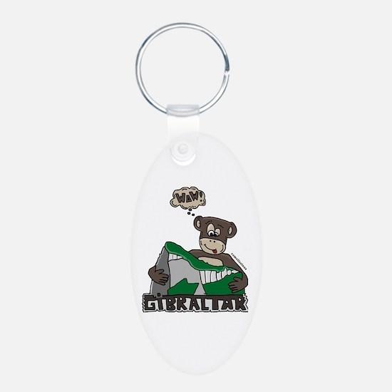 Monkey gib Keychains