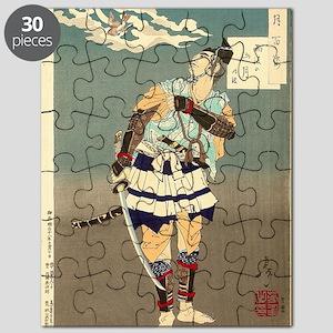 Tsuki Hyakushi - Mountain Moon After Rain Puzzle