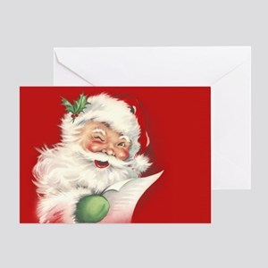 Vintage Santa Reworked! Greeting Cards