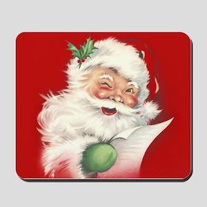 Vintage Santa Reworked! Mousepad