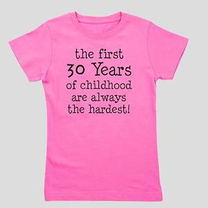 30 Years Childhood Girl's Tee