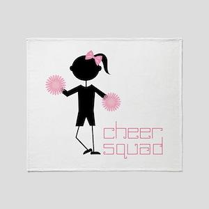 Cheer Squad Throw Blanket