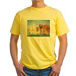 Sailboats (#2) & Golden Yellow T-Shirt