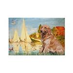 Sailboats (#2) & Golden Rectangle Magnet (10 pack)