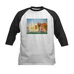 Sailboats (#2) & Golden Kids Baseball Jersey