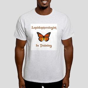 Lepidopterologist in Training Light T-Shirt