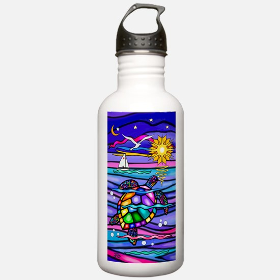 Funny Colorful Water Bottle