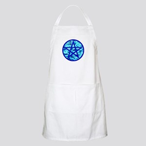 Elemental Pentacle BBQ Apron - Water