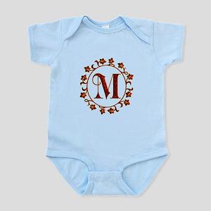 Letter M Monogram Infant Bodysuit