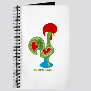 Traditional Portuguese Rooster Journal