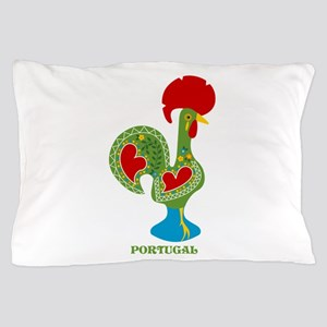 Traditional Portuguese Rooster Pillow Case
