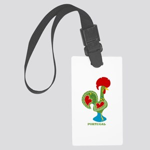 Traditional Portuguese Rooster Luggage Tag