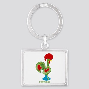 Traditional Portuguese Rooster Keychains