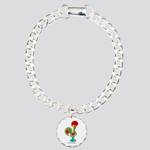 Traditional Portuguese Rooster Bracelet