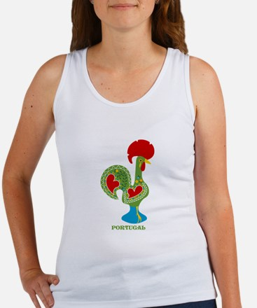 Traditional Portuguese Rooster Tank Top