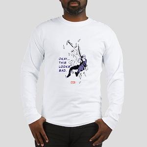 Hawkeye This Looks Bad Long Sleeve T-Shirt