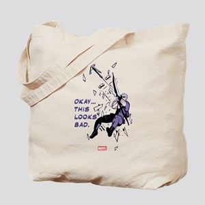 Hawkeye This Looks Bad Tote Bag