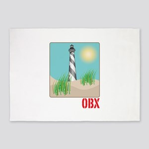 OBX 5'x7'Area Rug