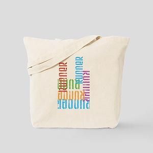 Run Off Colorful Tote Bag