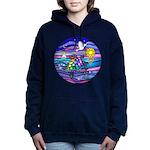 Sea Turtle #4 Women's Hooded Sweatshirt