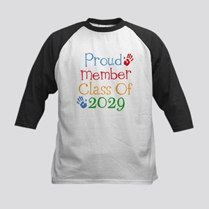 Class Of 2029 Pride Kids Baseball Jersey