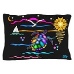 SeaTurtle (night) Pillow Case