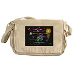 SeaTurtle (night) Messenger Bag
