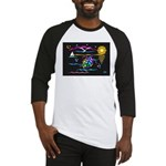 SeaTurtle (night) Baseball Jersey