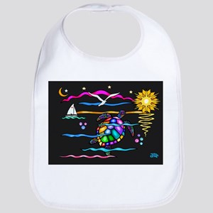 SeaTurtle (night) Bib