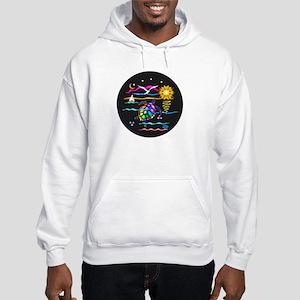 SeaTurtle (night) Hooded Sweatshirt