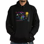 SeaTurtle (night) Hoodie (dark)