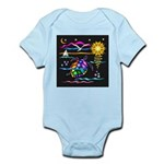 SeaTurtle (night) Infant Bodysuit