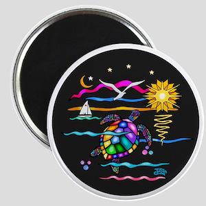 SeaTurtle (night) Magnet