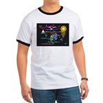 SeaTurtle (night) Ringer T