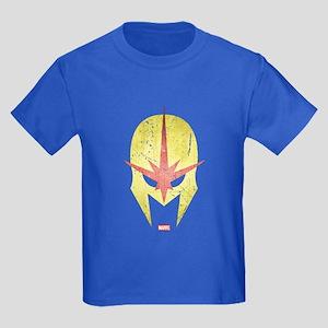 Nova Helmet Vintage Kids Dark T-Shirt