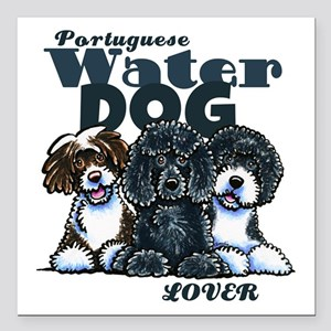 """PWD Lover Square Car Magnet 3"""" x 3"""""""