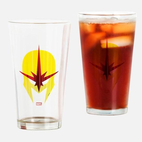 Nova Helmet Drinking Glass