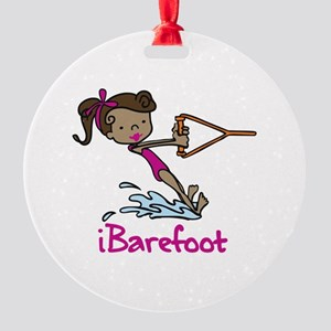 iBarefoot Girl Ornament