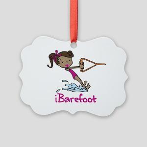 iBarefoot Girl Ornament