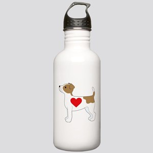 Jack Russell Terrier Stainless Water Bottle 1.0L