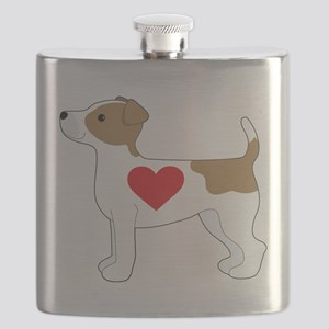 Jack Russell Terrier Flask