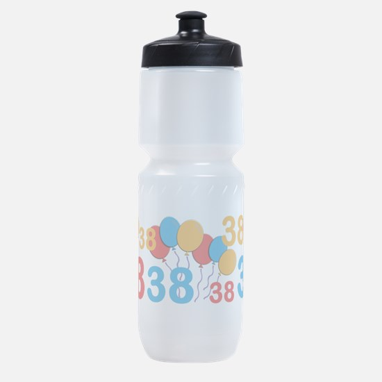 38 years old - 38th Birthday Sports Bottle