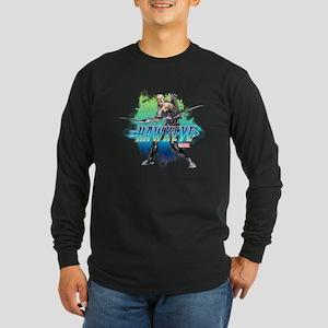 Hawkeye Version C Long Sleeve Dark T-Shirt