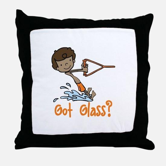 Got Glass Throw Pillow