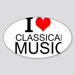I Love Classical Music Sticker
