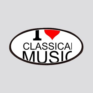 I Love Classical Music Patches