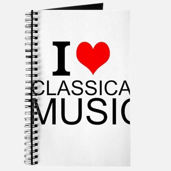 I Love Classical Music Journal