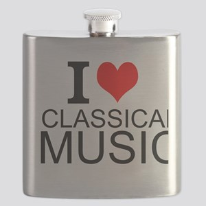 I Love Classical Music Flask