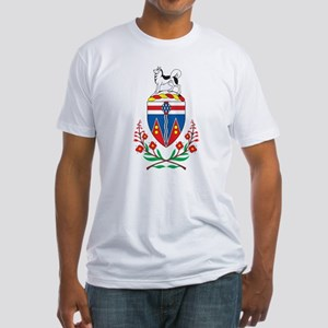 Yukon Coat Of Arms Fitted T-Shirt
